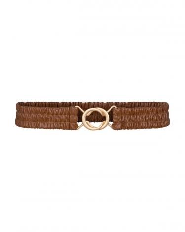 Co'Couture Bria belt - cognac