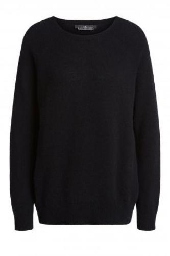 SET Fashion Cuddle cashmere blend sweater - black