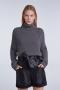 SET Fashion Turtleneck wool jumper mink