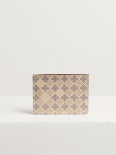 By Malene Birger Elia printed cardholder - wood