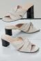 Closed schoenen - ivory