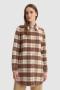 Woolrich Cozy medium overshirt Woodwork check