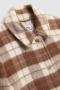 Woolrich Cozy medium overshirt Woodwork check bij Marja Lamme Fashion Amsterdam!